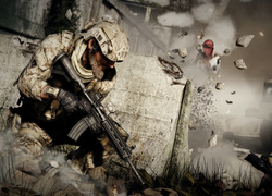 Scena z gry komputerowej Medal of Honor: Warfighter
