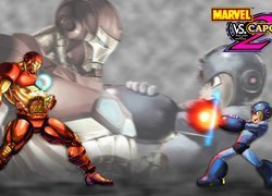 Scena z gry Marvel vs Capcom 2