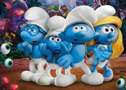 Smerfy w filmie Smurfs: The Lost Village