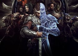 Talion na czele postaci z gry Middle-Earth: Shadow of War