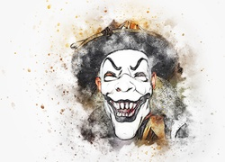 Maska, Joker, Paintography