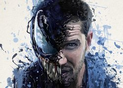 Grafika, Film, Venom, Aktor, Tom Hardy
