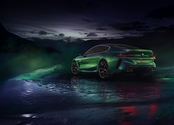 Zielone BMW Gran Coupe Concept