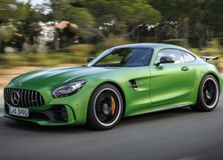 Zielony, Mercedes-AMG GT R, Coupe